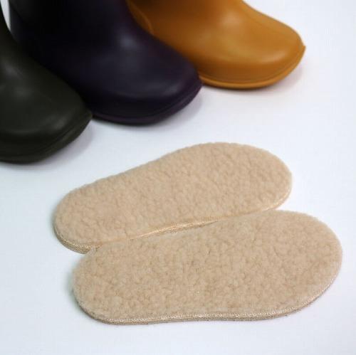 stample スタンプル レインブーツ用ボアインソール 長靴 キッズ用レインブーツ 子供長靴 梅雨