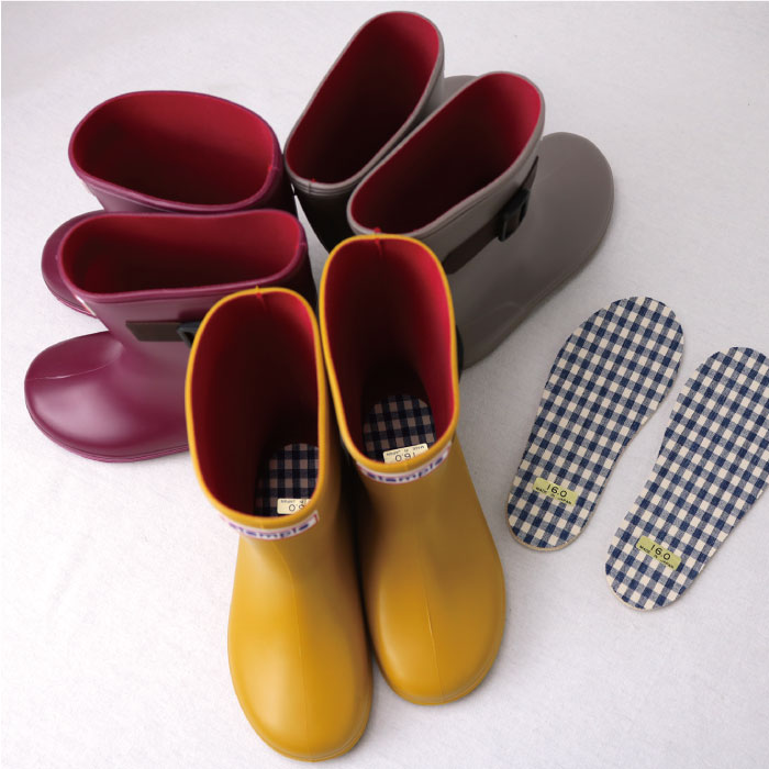 スタンプル(stample) スタンダードレインブーツ キッズ レインシューズ 日本製 子供 長靴 女の子 男の子 71970