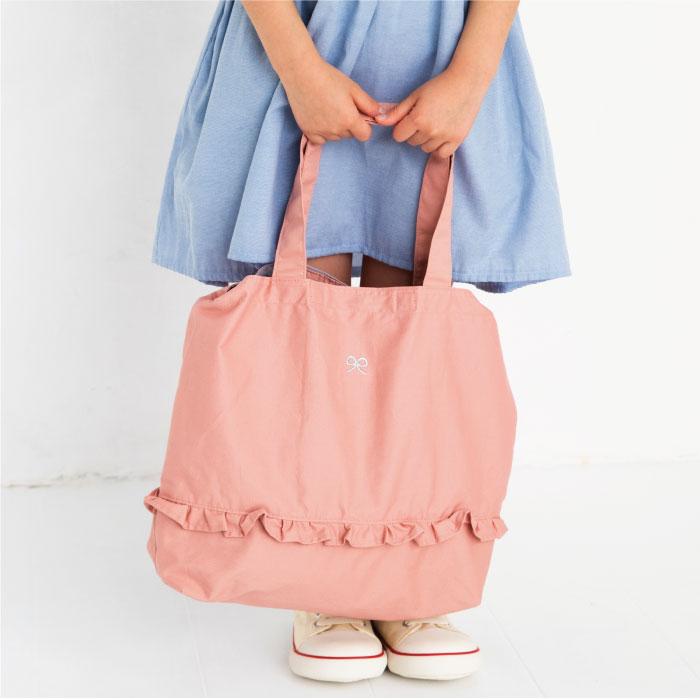 スタンプル stample ガールズレッスンショルダーバッグ レッスンバッグ  かばん カバン キッズ 子供 入園 入学 幼稚園 保育園 小学校 女の子 ピンク