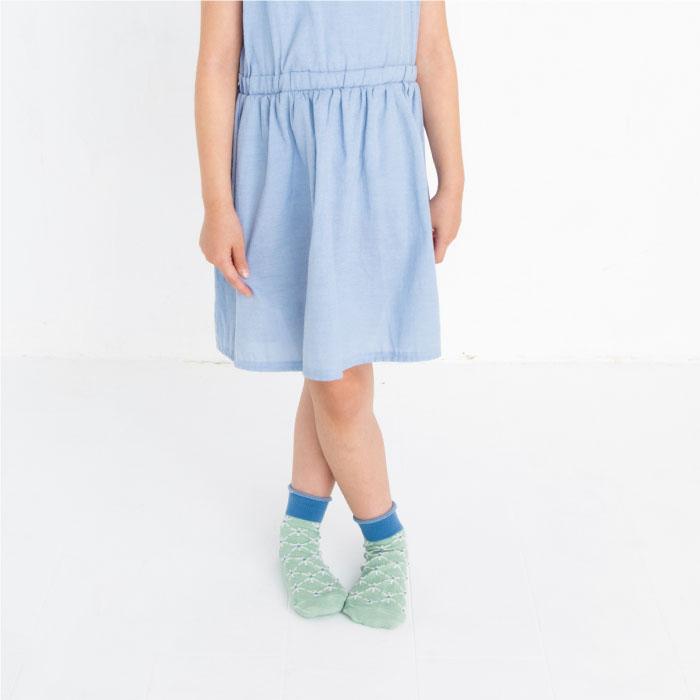 stample スタンプル ツイッグフロートショートソックス  3足組 靴下 くつ下 キッズ 子供 お揃い