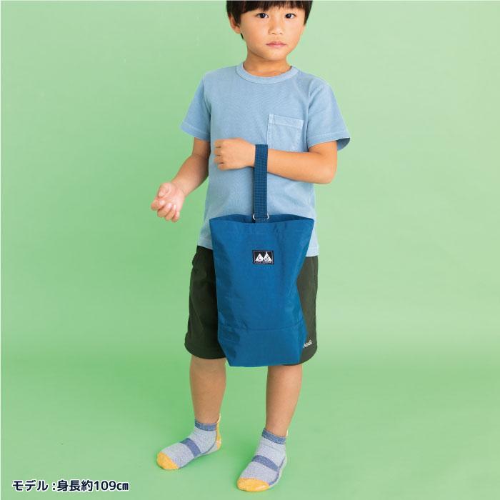 スタンプル stample ウォッシュドナイロン シューズバッグ かばん カバン 上靴入れ キッズ 子供 入園 入学 幼稚園 保育園 男の子 女の子 ピンク