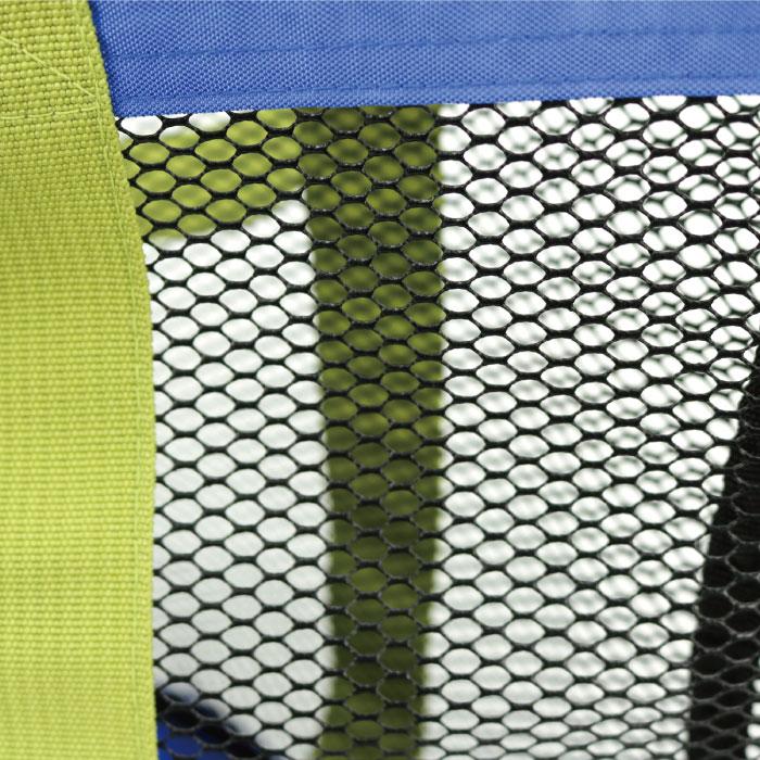 キャンプスタンプル CAMP STAMPLE  メッシュアウトドアトートバッグ キッズ・子どもトートバッグ ピンク ブルーグリーン ブルー かばん カバン 子供 幼稚園 保育園