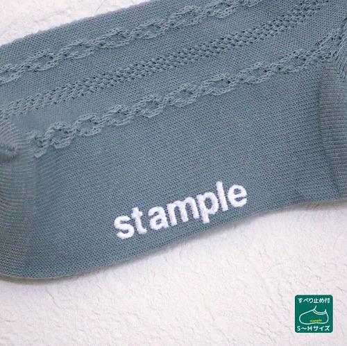 stample スタンプル レーシーフロートショートソックス  3足組 靴下 くつ下 キッズ 子供 お揃い