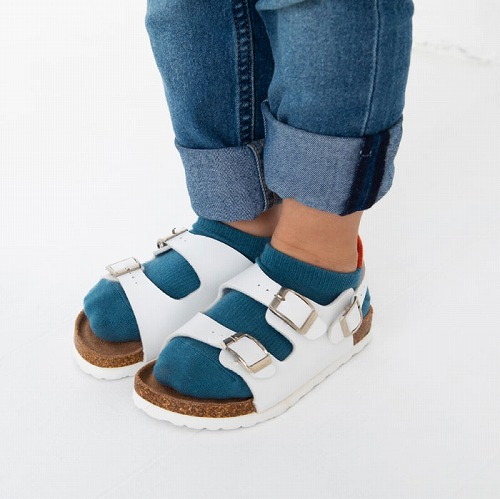 スタンプル stample ポイントカラーローカットソックス 3足組 子供 靴下 キッズ