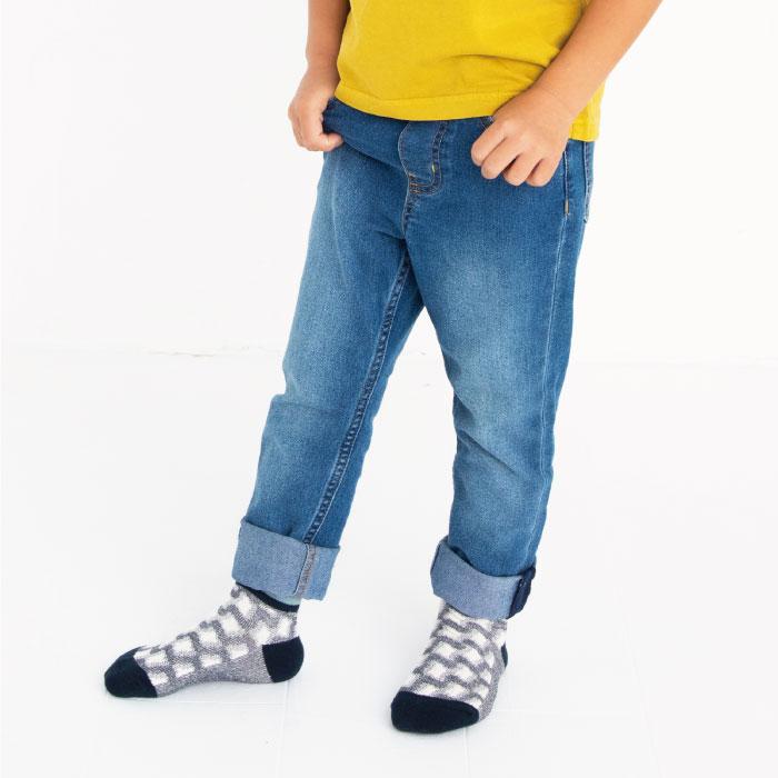 スタンプル stample フロート3柄アンクルソックス3足組 靴下 くつ下 キッズ 子供
