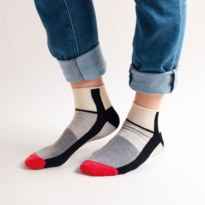 スタンプル stample ボーイズスポーツアンクルソックス3足組 靴下 くつ下 キッズ 子供