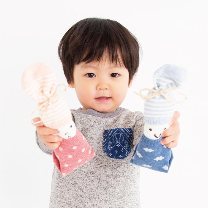 stample スタンプル 日本製 ベビーソックドール プチギフト3足組 靴下 くつ下 ベビー 子供