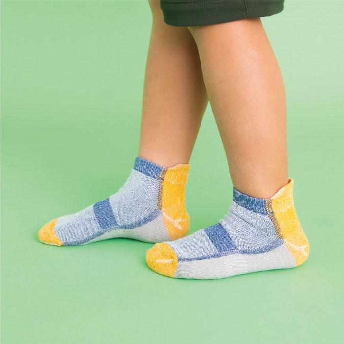 スタンプル stample フロートブロックアンクルソックス3足組 靴下 くつ下 キッズ 子供