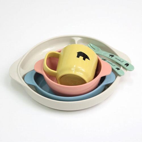 stample スタンプル 日本製 ベビー食器6点セット ギフト箱入り  離乳食  出産祝い