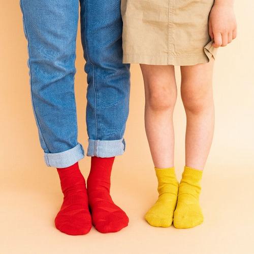 stample スタンプル シードパターンショートソックス 3足組 靴下 くつ下 キッズ 子供