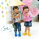 stample(スタンプル) レインシューズ キッズ用レインブーツ 子供長靴 レインシューズ ピンク イエロー ブルー
