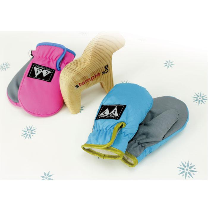 スタンプル stample  ベビーウインターミトン 雪遊び 手袋 キッズ 男の子 女の子