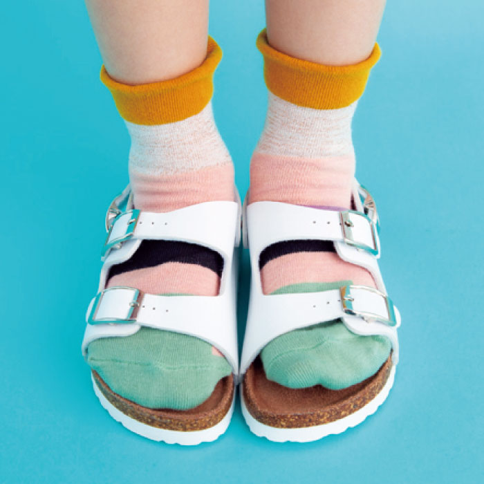 stample ラメミックスショートソックス 靴下 くつ下 キッズ 子供