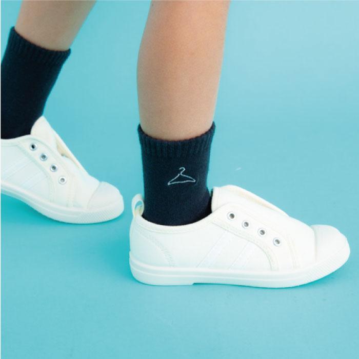 スタンプル stample シュール刺繍ショートソックス3足組 靴下 くつ下 キッズ 子供