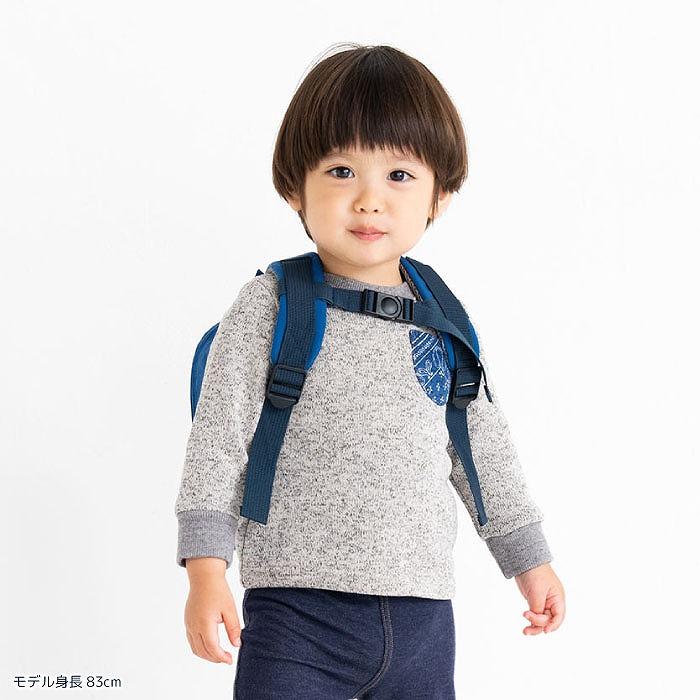 stample スタンプル ナイロン ネコベビーリュック かんたんバックル付き  赤ちゃんリュック 乳幼児リュック 1才-4才