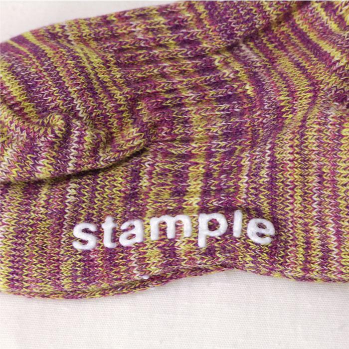 スタンプル stample ミックスアンクルソックス 3足組
