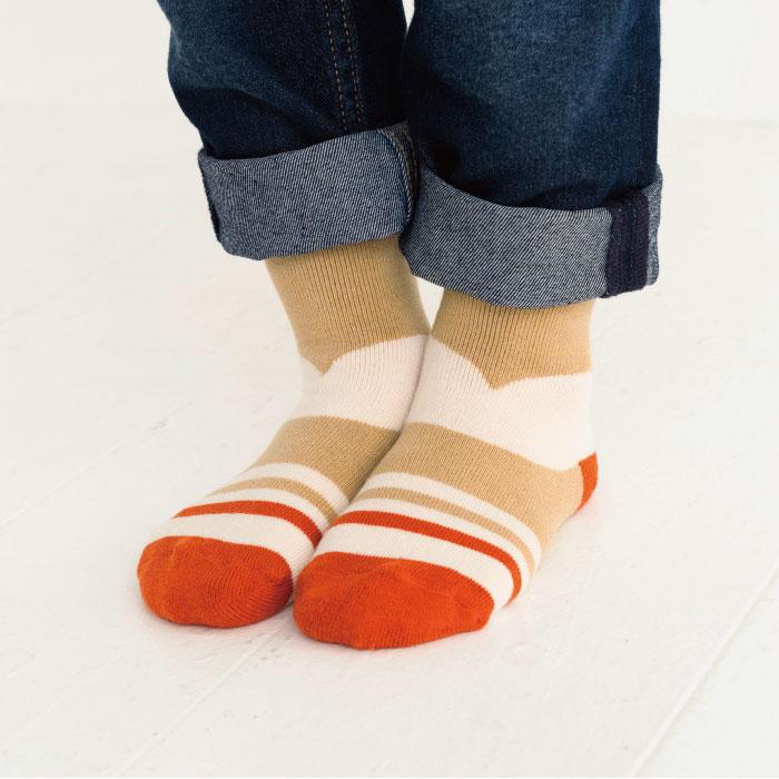 stample スタンプル マルチヒールパイルクルーソックス3足組 靴下 くつ下 キッズ 子供 親子お揃い