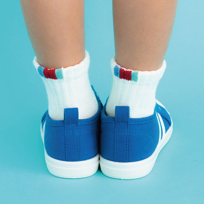 stample スポーツリブショートソックス 靴下 くつ下 キッズ 子供