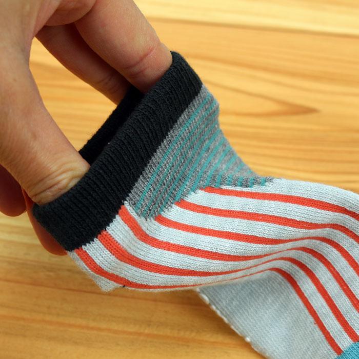 stample スタンプル シンプルヘザーアンクルソックス 3足組 靴下 くつ下 キッズ 子供