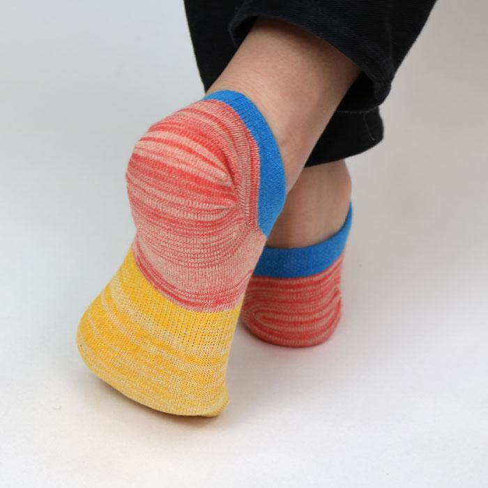 スタンプル stample ユニオンローカットソックス 3足組 子供 靴下 キッズ