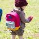 スウェットベビーリュック かんたんバックル付き  赤ちゃんリュック 乳幼児リュック 1才-4才