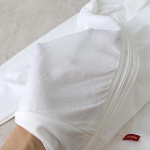 スタンプル stample ラフ ラッシュガード 32171 キッズ フードなし スタンドカラー 夏 水着 紫外線予防 日焼け 速乾 接触冷感 シンプル 薄手