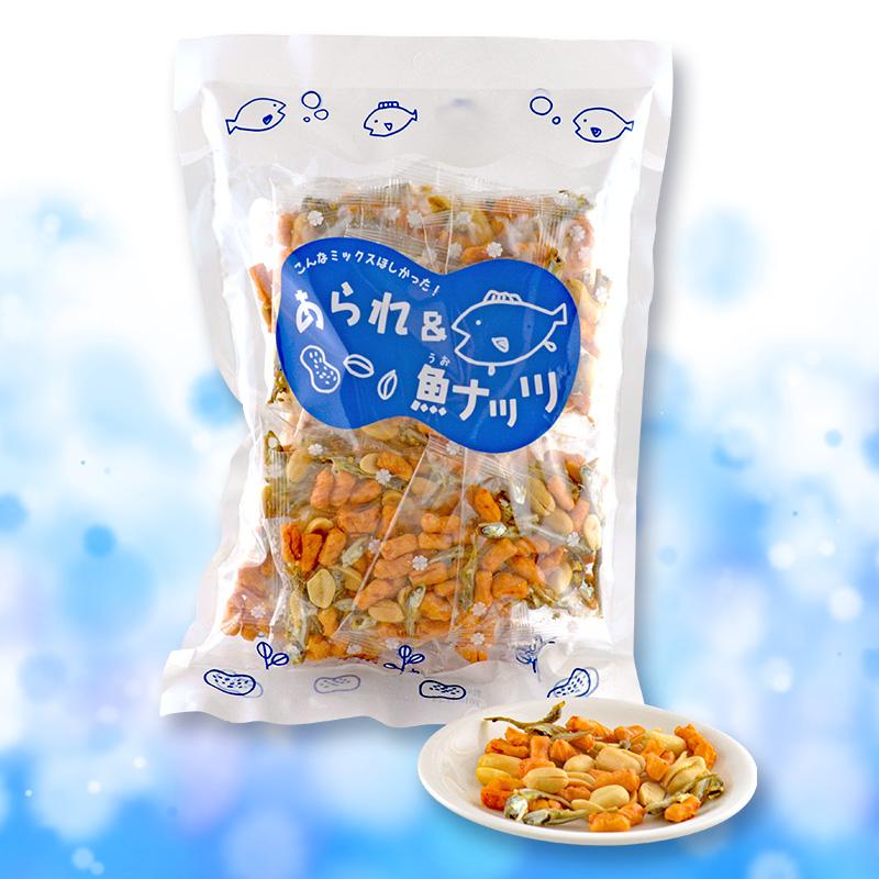 あられ&魚ナッツ