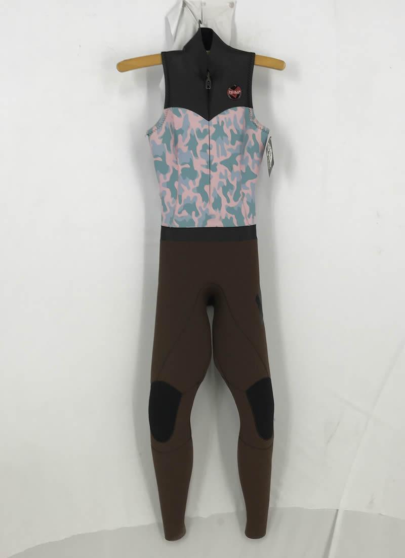 【新品アウトレット】TRUMP(トランプ) ウエットスーツ QUEEN ロングジョン レディース MLサイズ WETSUITS