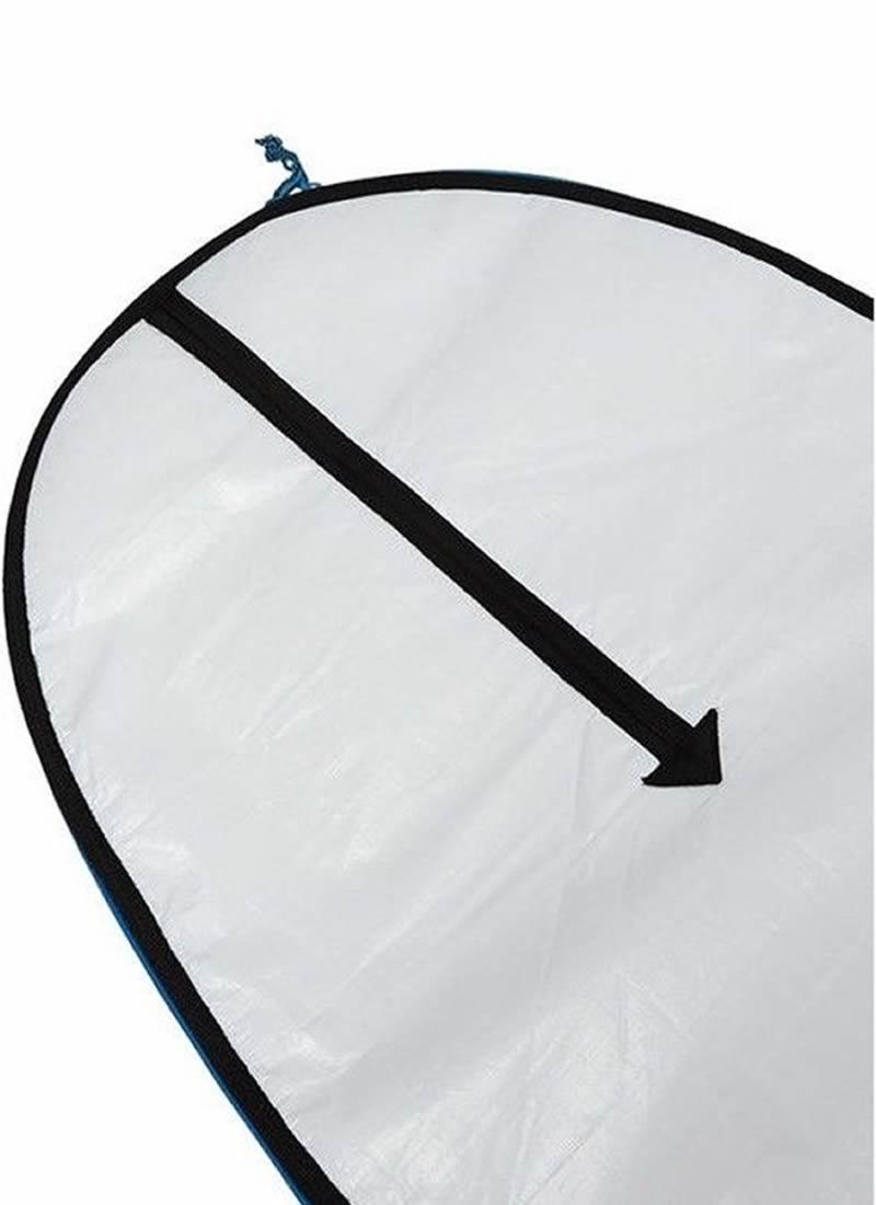 """【新品】FCS(エフシーエス)CLASSIC SUP [WHITE×TARPEE]9'6"""" スタンドアップパドル 用 ハードケース"""
