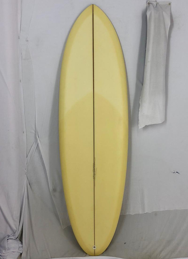 """【新品アウトレット】CHRISTENSON (クリステンソン) cfoモデル サーフボード [Cream yellow] 5'8"""" オルタナティブボード"""