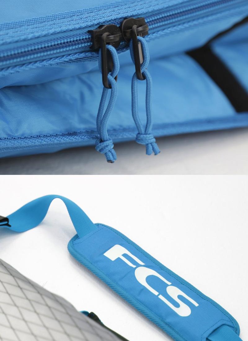 "FCS(エフシーエス)3DXFIT DAY Funboard [TEAL] ファンボード用 ハードケース 7'6"" ボードケース"