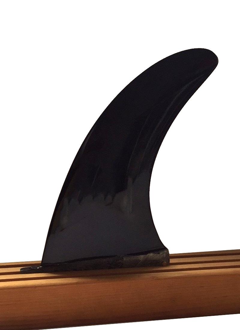 【新品アウトレット】No Logo(ノーロゴ・ノーブランド)フィン [Black] single fin センターフィン