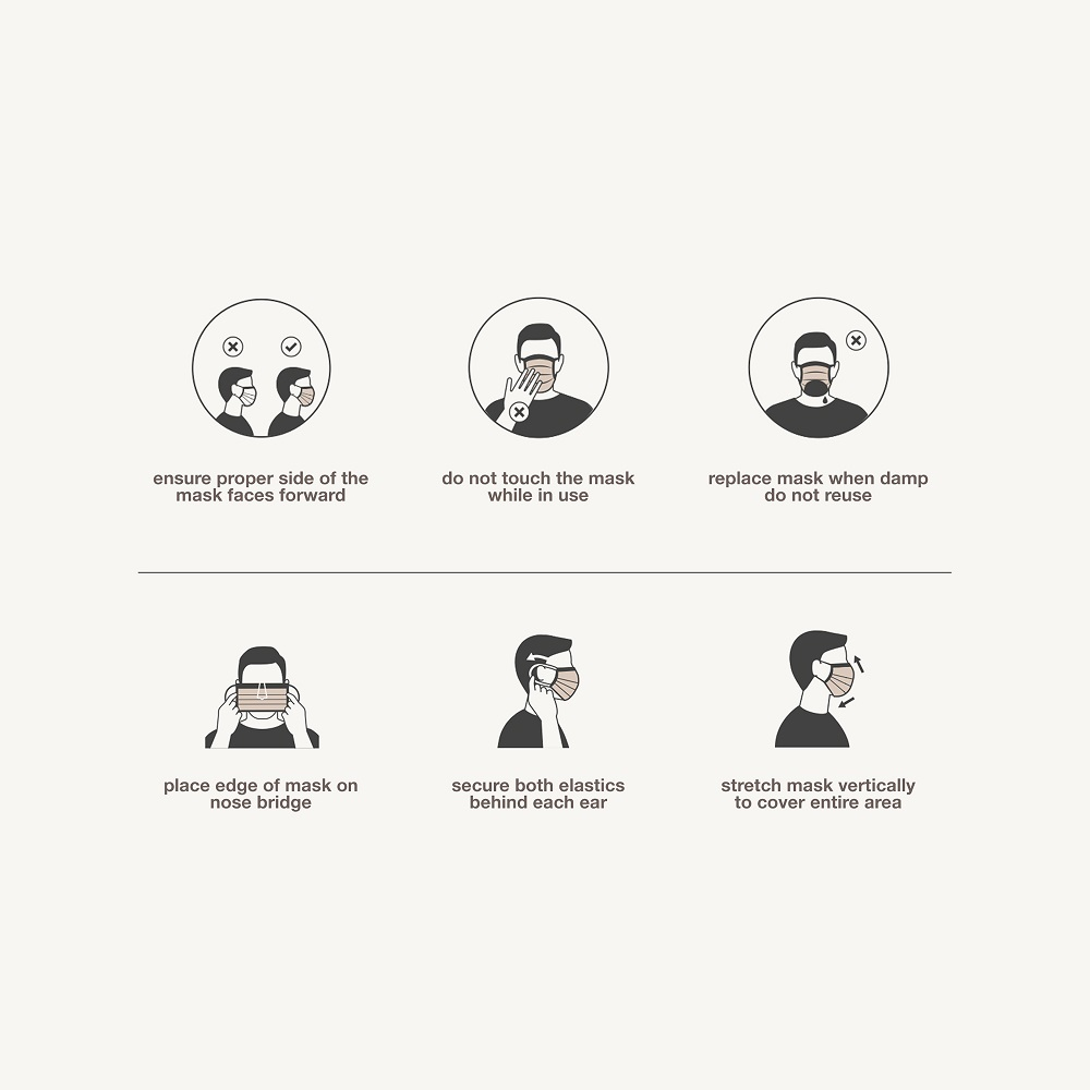 amazonia - 30 face masks
