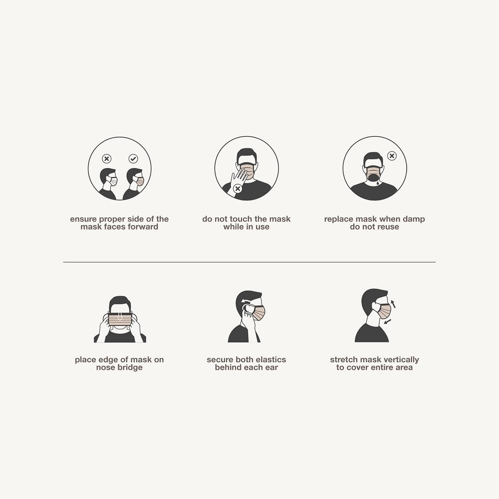 milan - 30 face masks