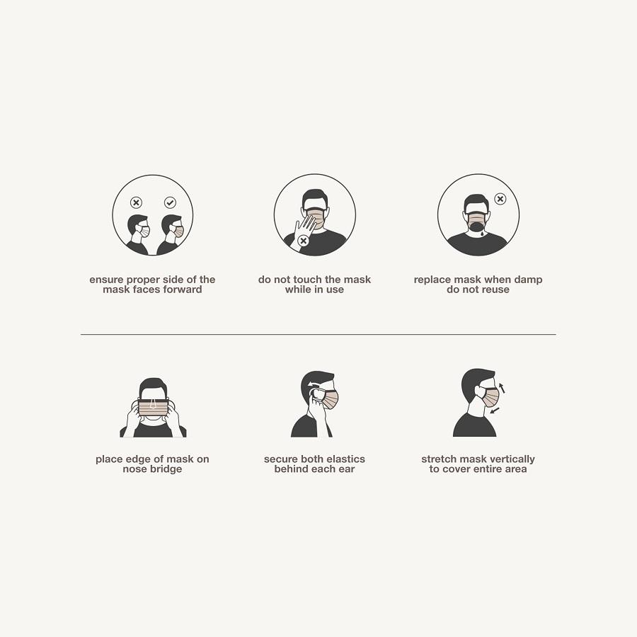 nyc - 30 face masks