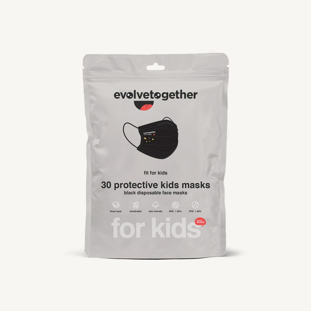 milan - kids 30 face masks