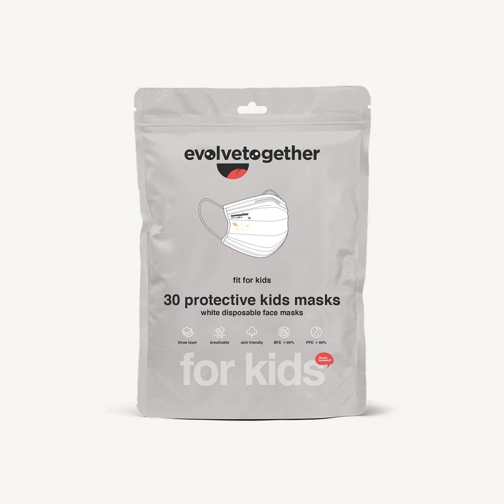 nyc - kids 30 face masks
