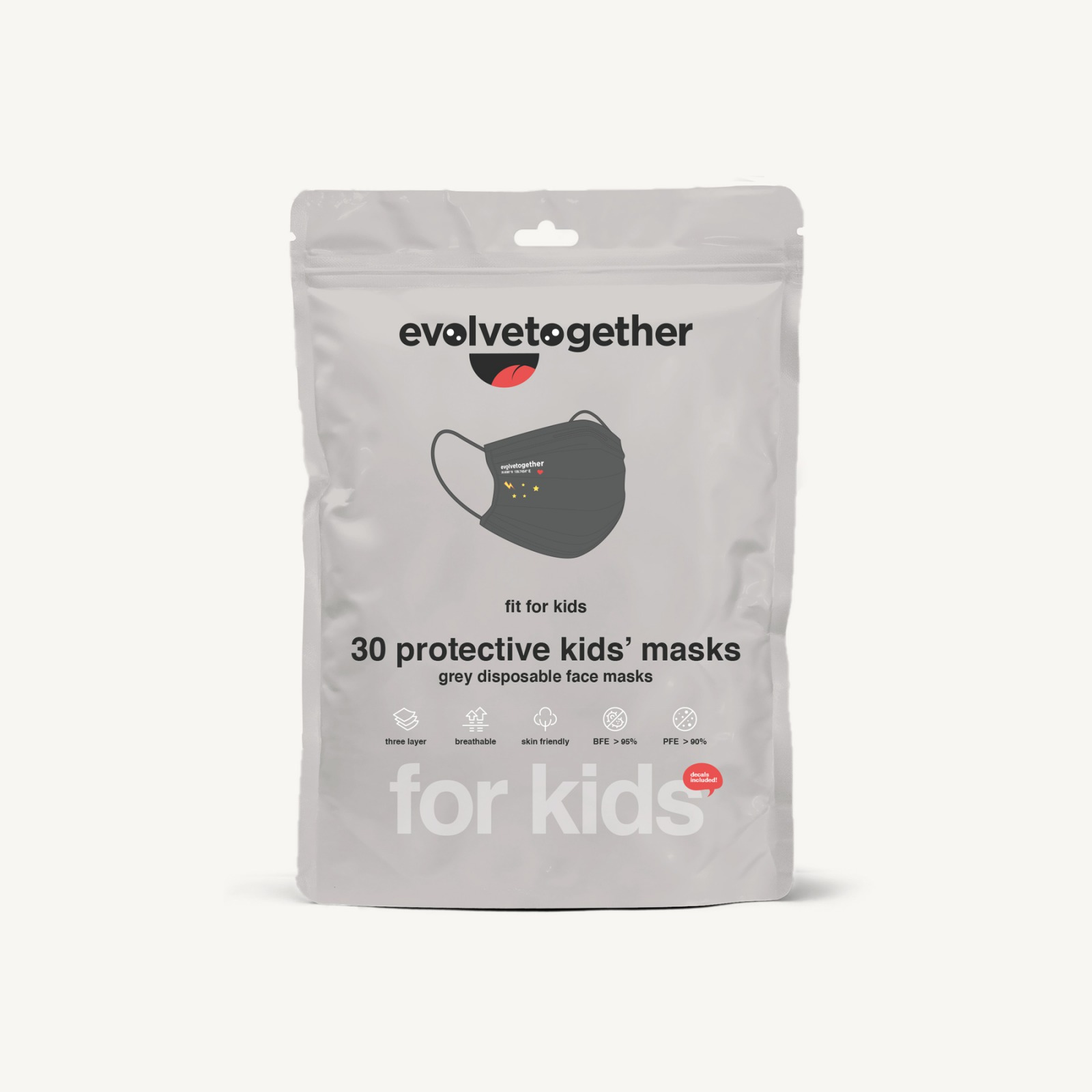 tokyo - kids 30 face masks