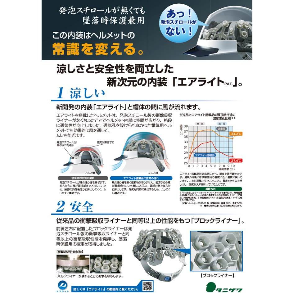 メーカー欠品中 次回3月下旬入荷予定です 谷沢製作所 保護帽 ST#1830-JZ V5ーW1 ヘルメット