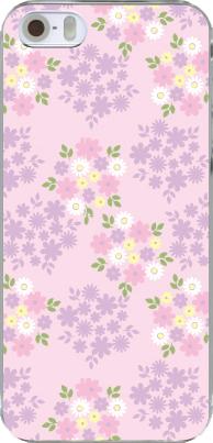 【フラワーシリーズ】ノーマルピンク 人気デザイナー大澤和美のiphoneケース