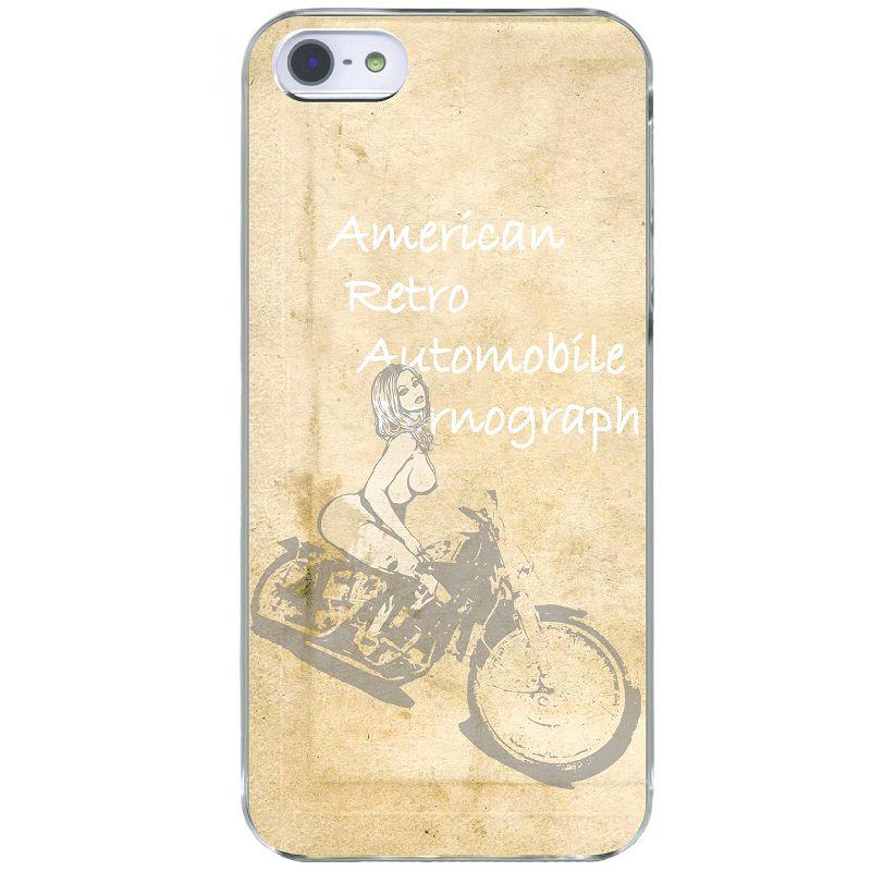 【グラフィティ】セクシーバイクガール iphoneケース