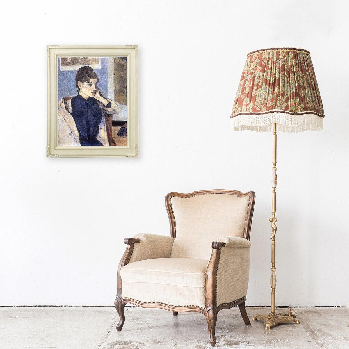 ラーソン・ジュール 油絵用額縁 バネッサ F4 アイボリー