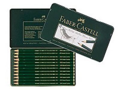 ファーバーカステル 9000番 デザインセット(5H、4H、3H、2H、H、HB、F、B、2B、3B、4B、5B) 119064