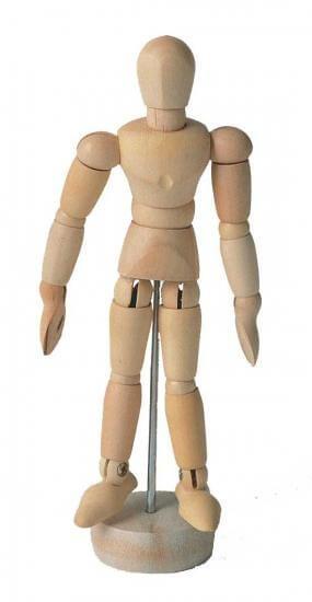 ホルベイン モデル人形 No.00-M ツゲ材 345108