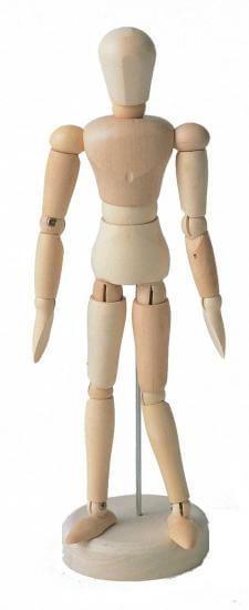 ホルベイン モデル人形 No.1-M ツゲ材 345109