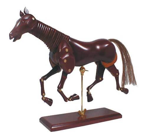 ホルベイン マネキン 馬のモデル No.3 345123