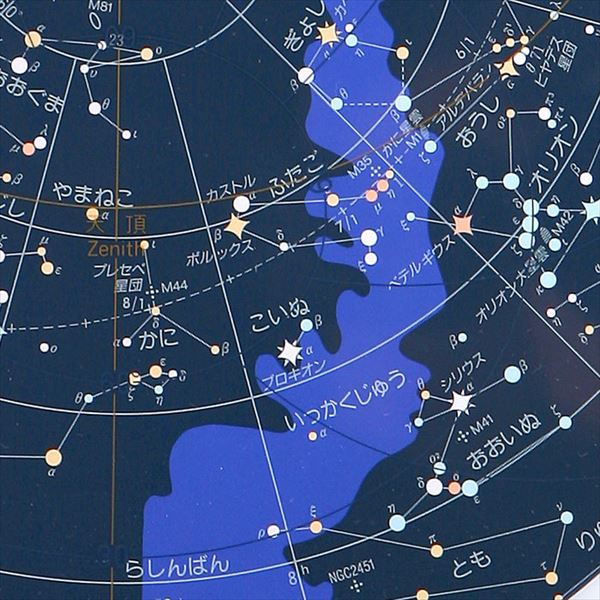 渡辺教具製作所 地球儀 大型星座早見 No.1105
