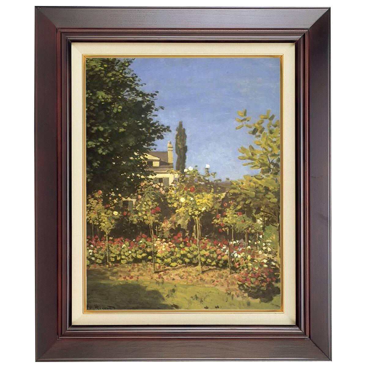 ラーソン・ジュール 油絵用額縁 A140 F8 セピア