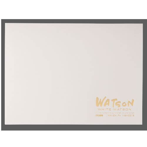 ミューズ ホワイトワトソンブロック HW-306 超特厚口 300g [F6] (15枚)