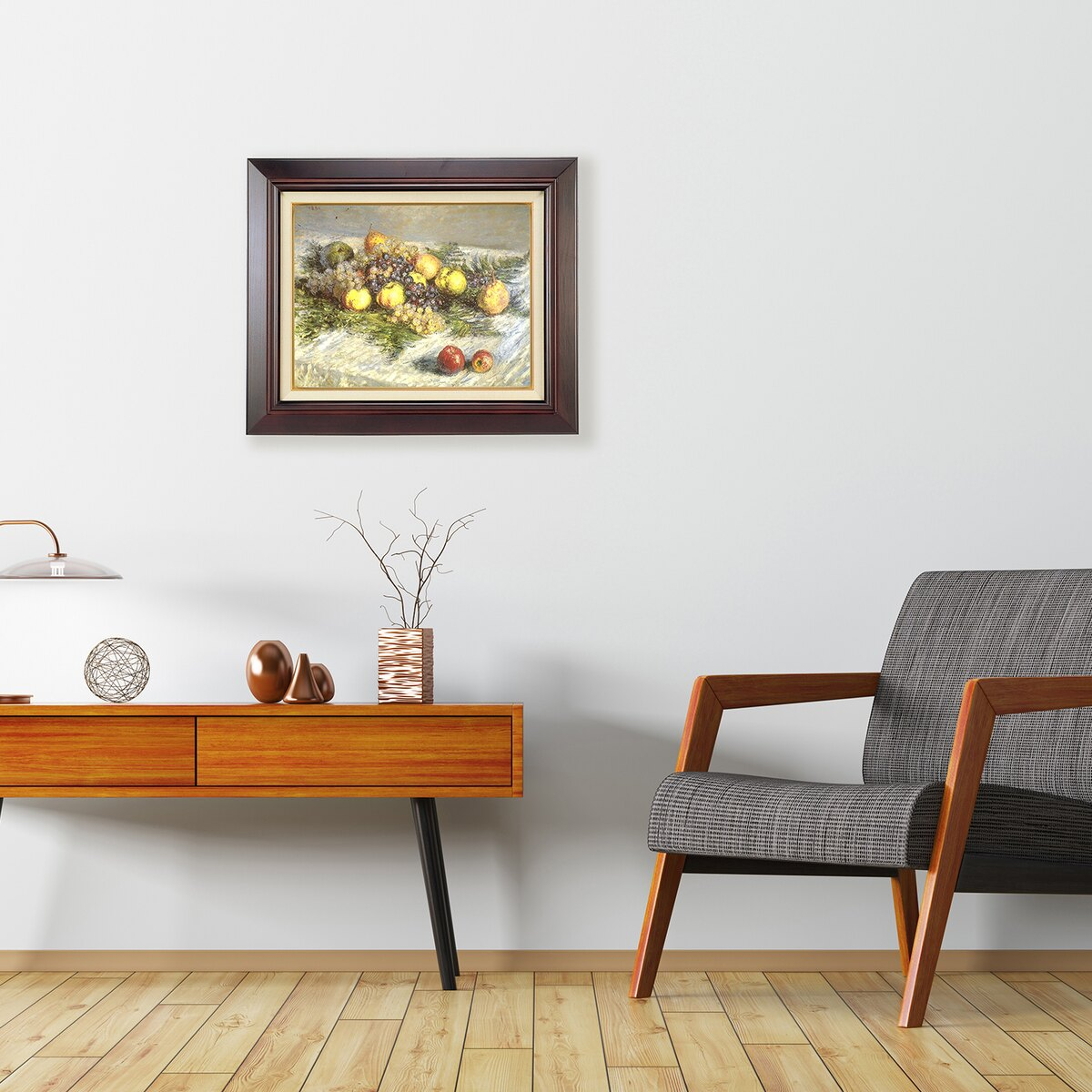 ラーソン・ジュール 油絵用額縁 A140 P10 セピア